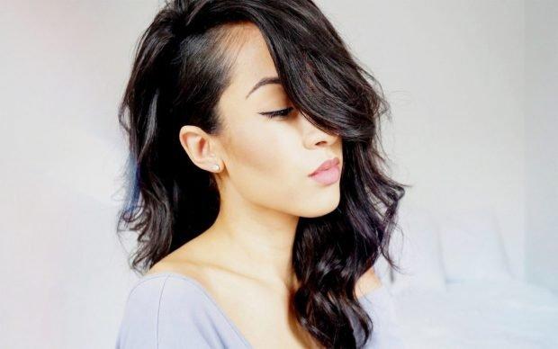 мода 2018 2019 женская стрижка выбритый висок средняя длина