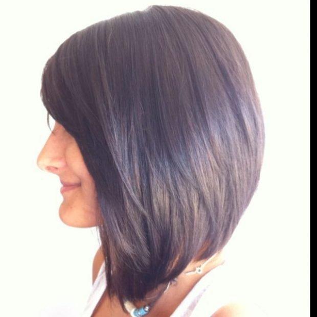 боб средняя длина волос мода 2018 2019 женская стрижка