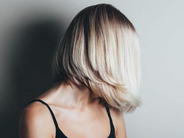 мода 2018 2019 года стрижка женская боб средняя длина волос