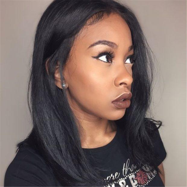 стильная женская стрижка 2018 2019 каре средняя длина волос