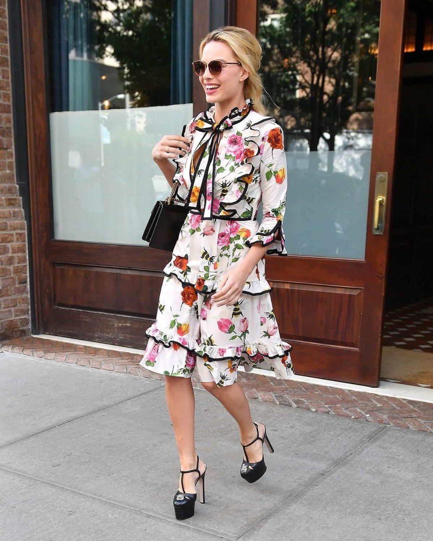 платье с воланами в цветы жакет в тон