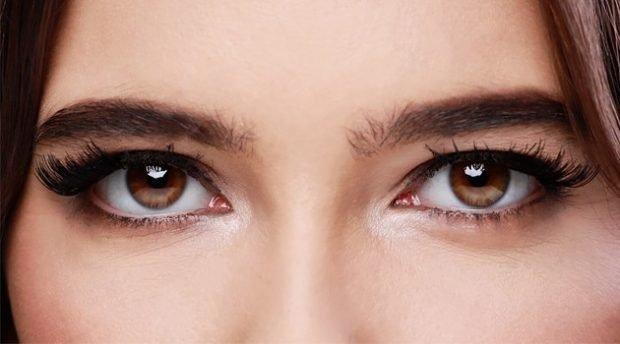 накладные ресницы на магнитах на угол глаза
