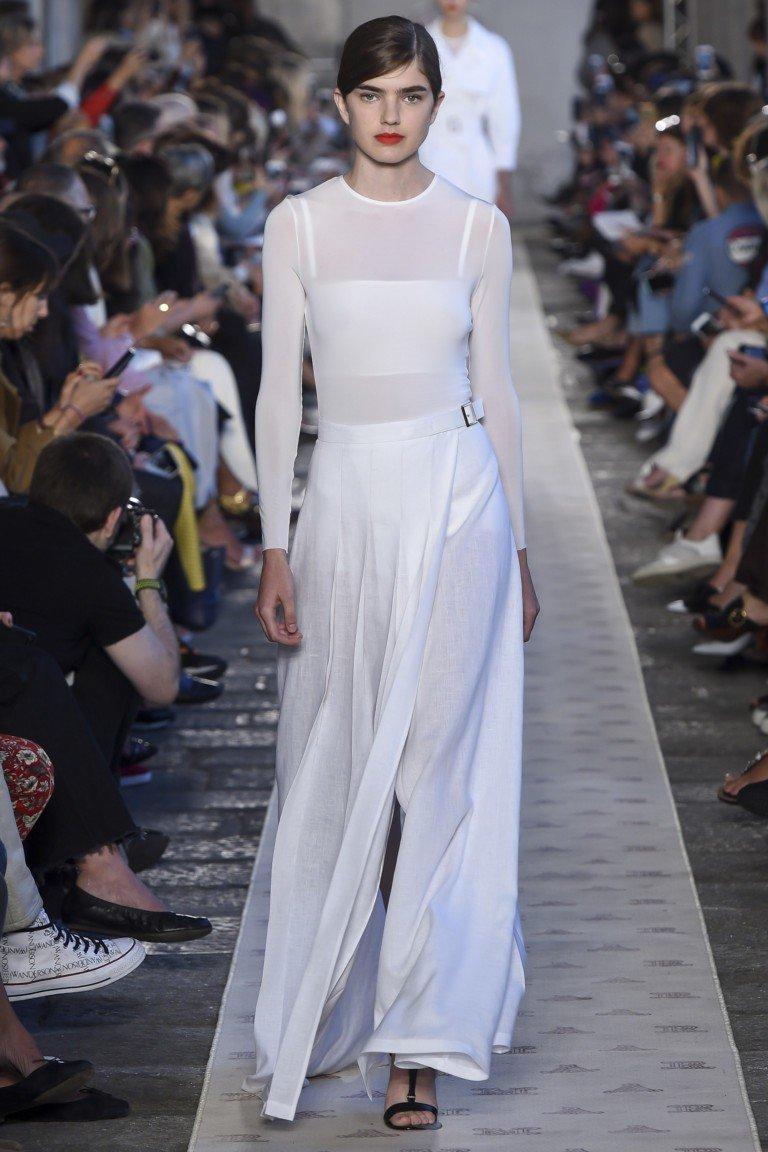 юбка белая в пол водолазка белая прозрачная