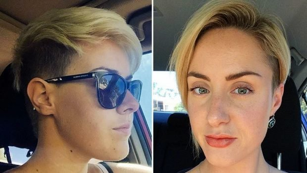 женская укладка волос 2019 2020: стрижки с выбритыми висками