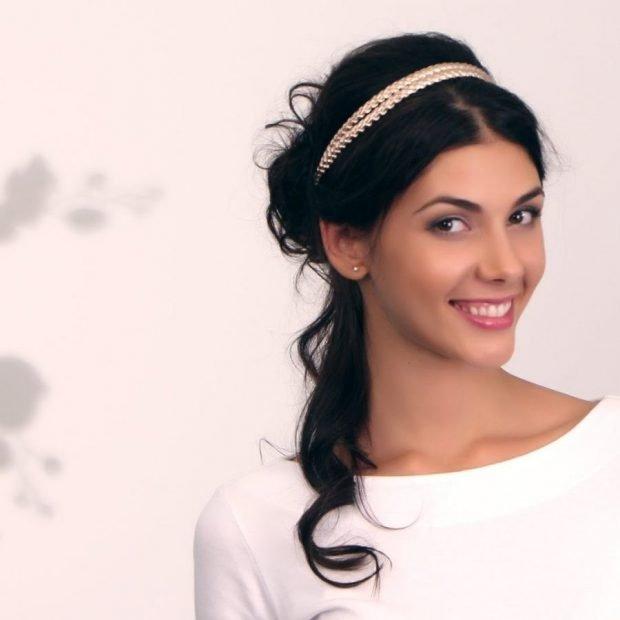 укладка греческий стиль волосы длинные