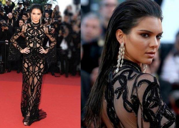 вечерние платья 2019 2020 новинки: длинное черное прозрачное вечернее модное