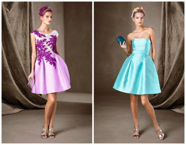 мода 2019-2020 вечернее платье розовое в цветы платье бюстье бирюзовое