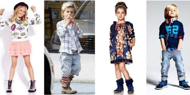 Детская мода 2019 2020 года: для девочек и мальчиков.