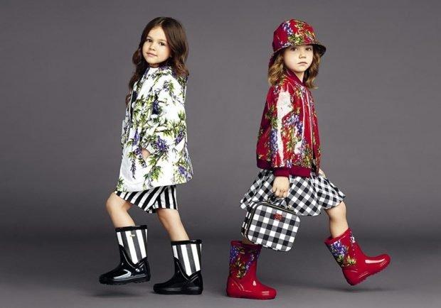 Детская мода 2019 2020: юбка в клетку или в полосу куртка в принт