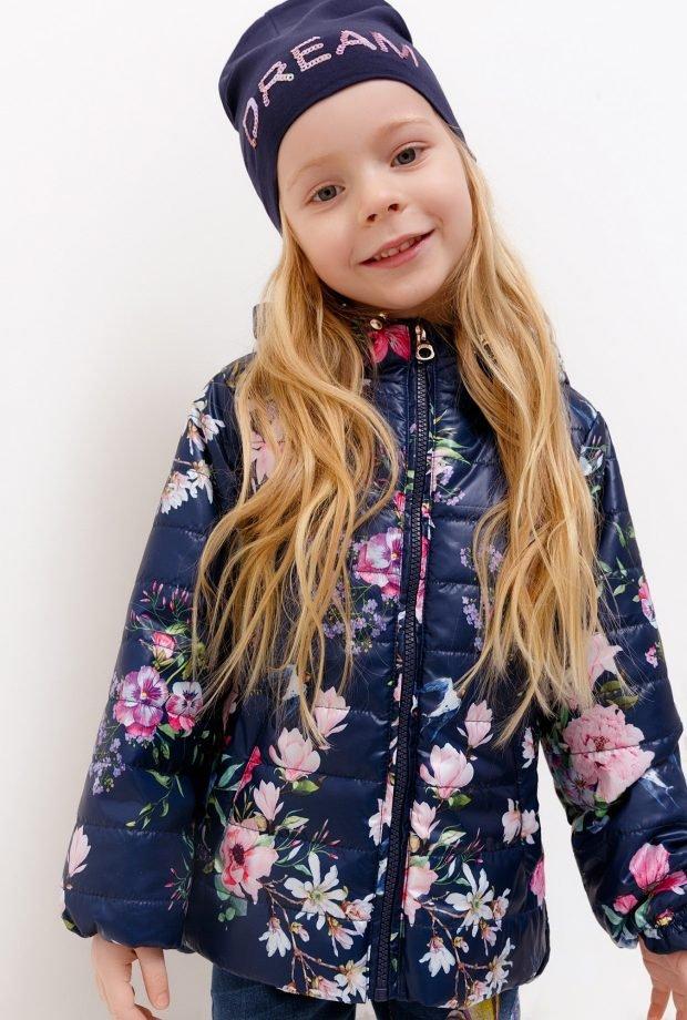 детская куртка в принт