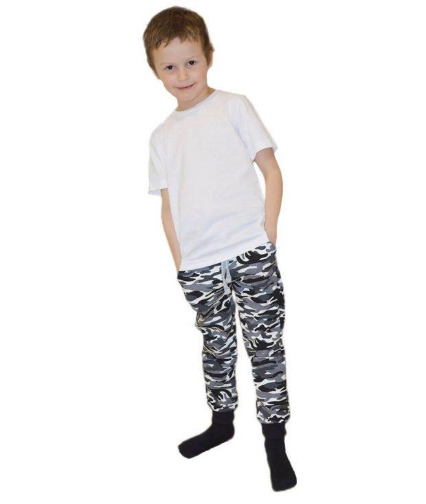 детские камуфляжные брюки