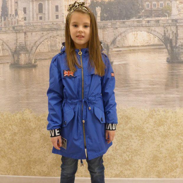 синяя куртка детская