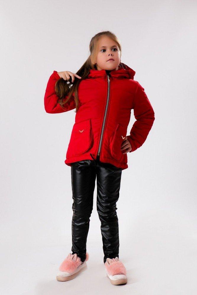 красная куртка детская