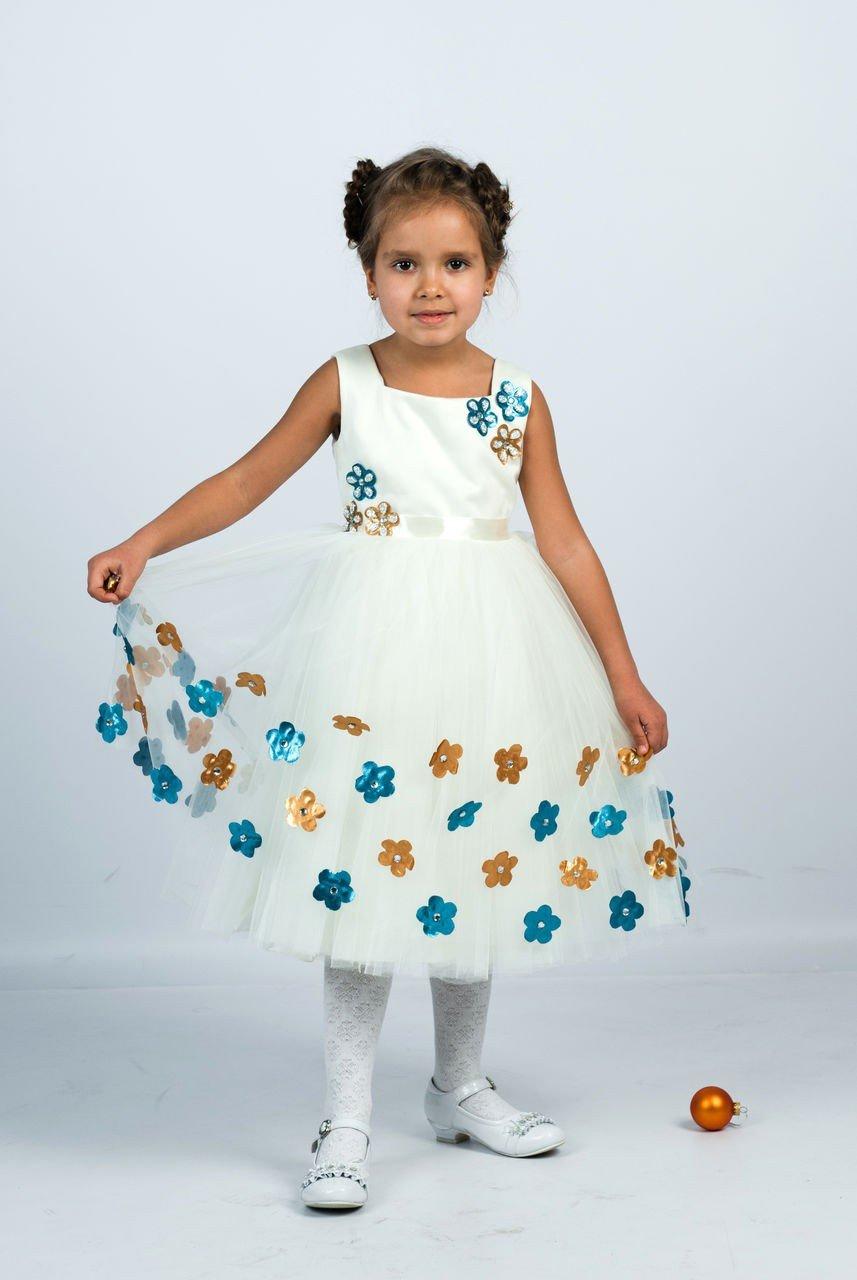 платье белое детское