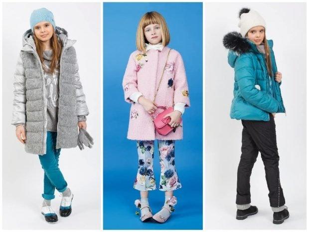 детское пальто на осень