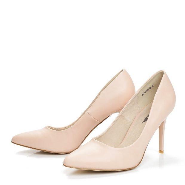 Туфли женские весна лето: на среднем каблуке розовые лодочки