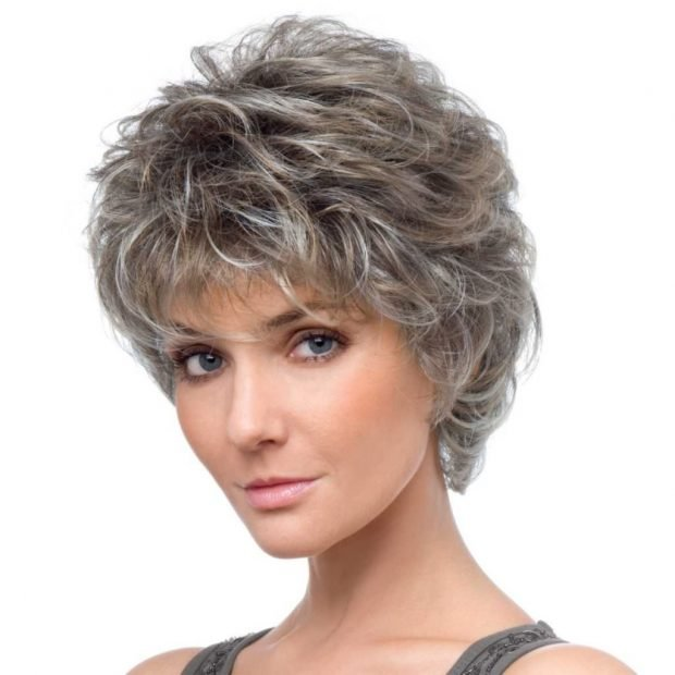 стрижка пикси на вьющиеся волосы