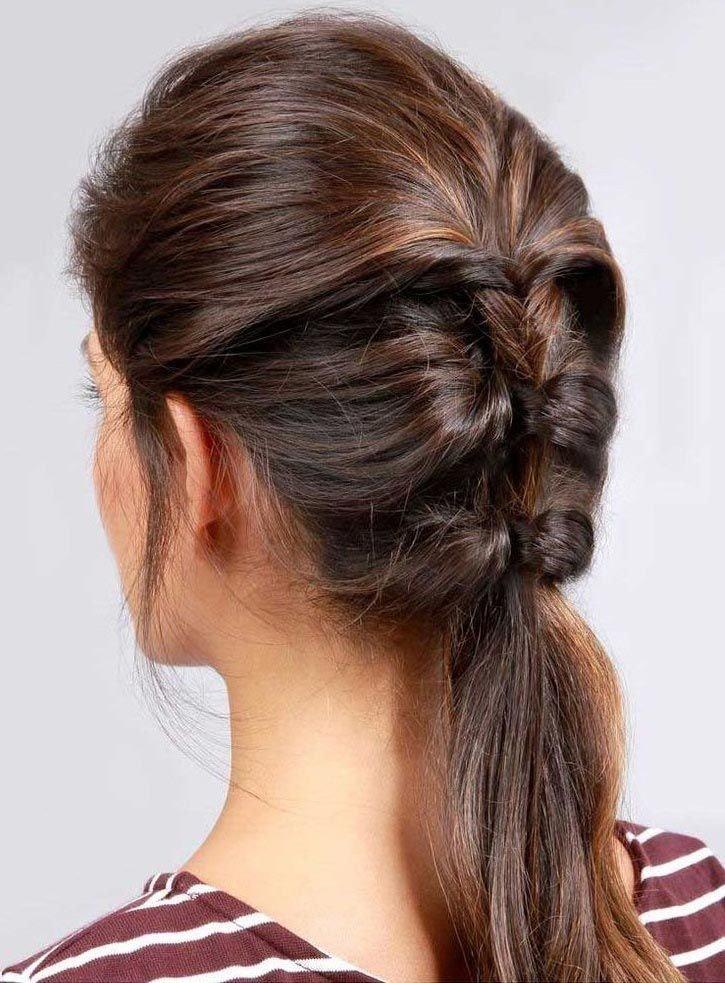 простая коса