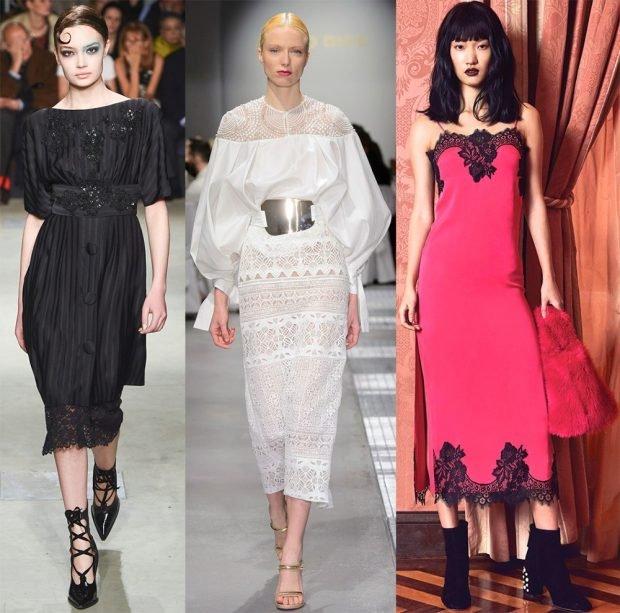 черное платье длинное белое и розовое