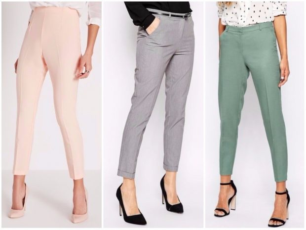 короткие брюки светлые серые зеленые