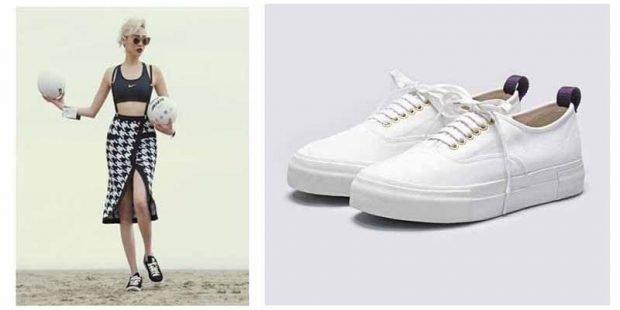 женская обувь весна лето 2020: кеды белые текстильные