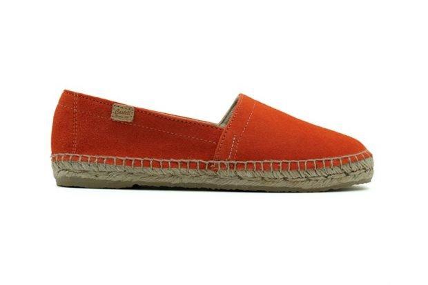 эспадрильи оранжевые