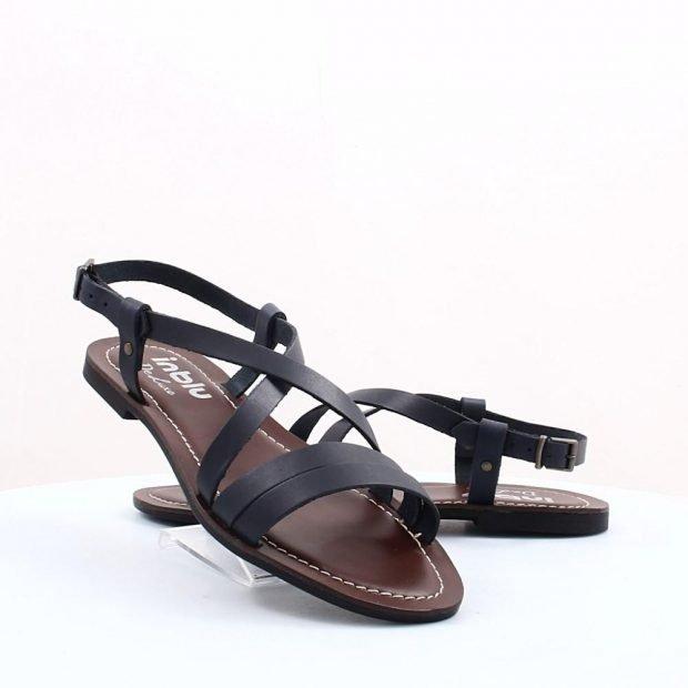 сандалии черные на тонкой подошве много плетений