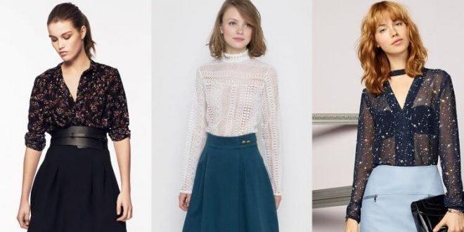 a4076655c24 Идеи! Модных женских блузок весна-лето 2019 года  100 фото