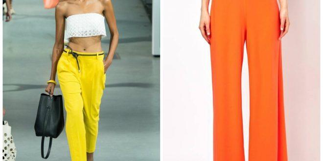 Модные женские брюки весна лето 2019: фото и тренды