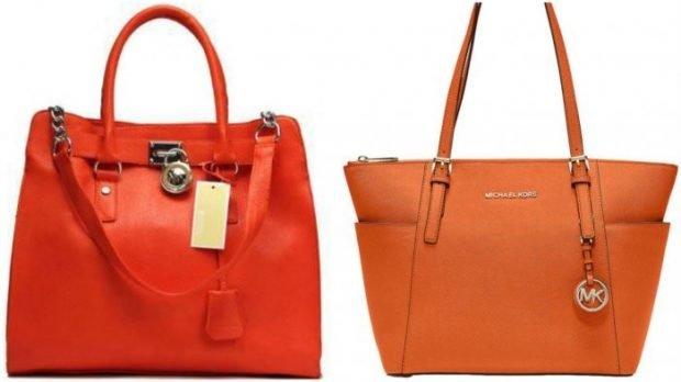 сумка красная кожаная оранжевая трапеция