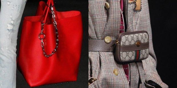 сумка-мешок красная сумка на ремне серая