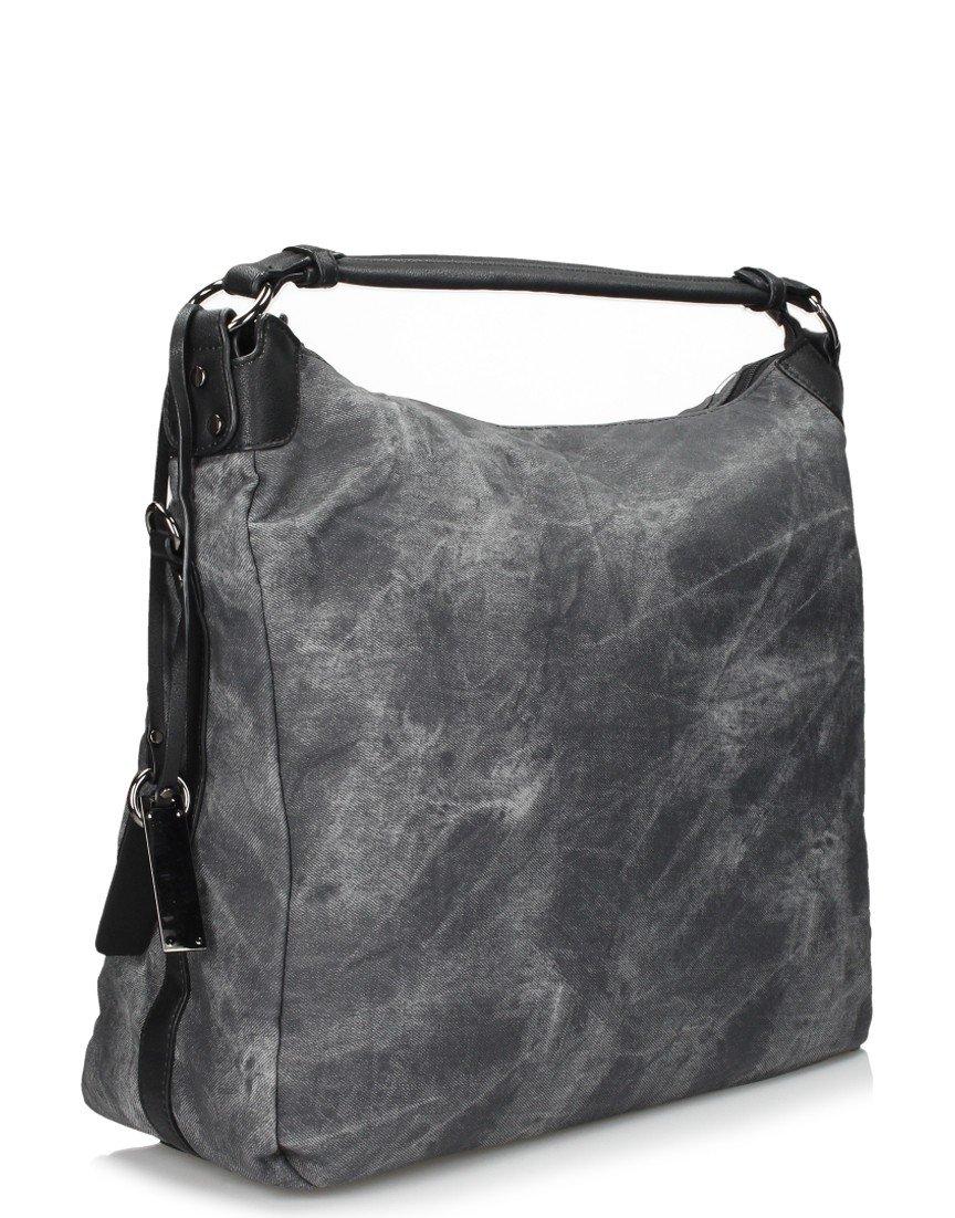 мягкая сумка серая