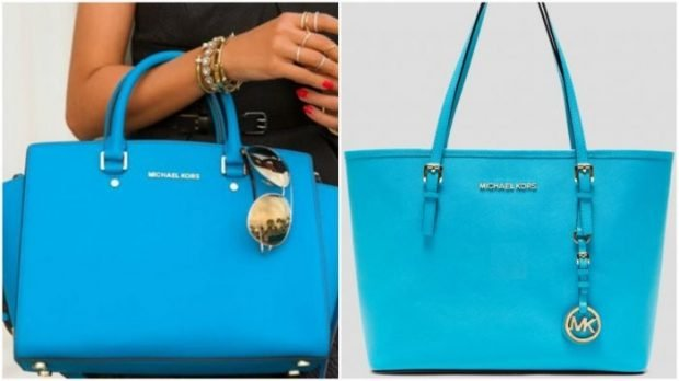 сумки голубые яркие