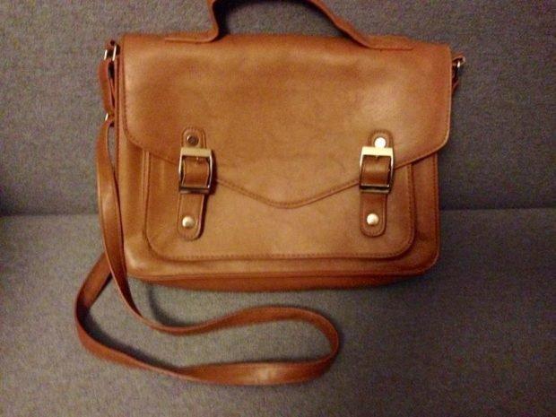 сумках сэтчел большая коричневая мягкая