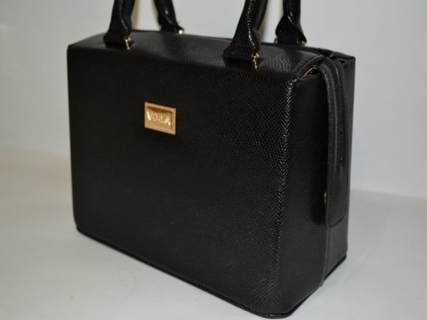 сумка каркасная черная