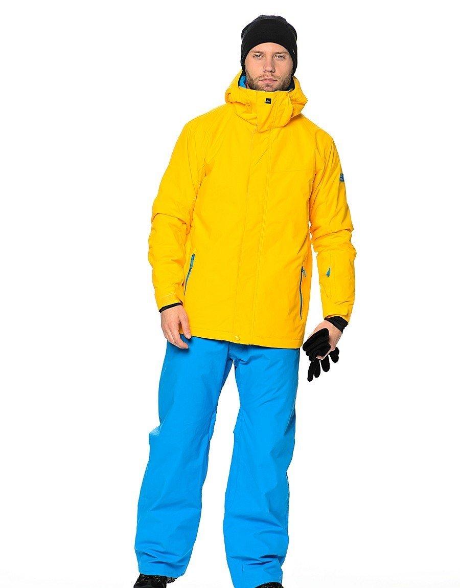куртка для сноуборда желтая