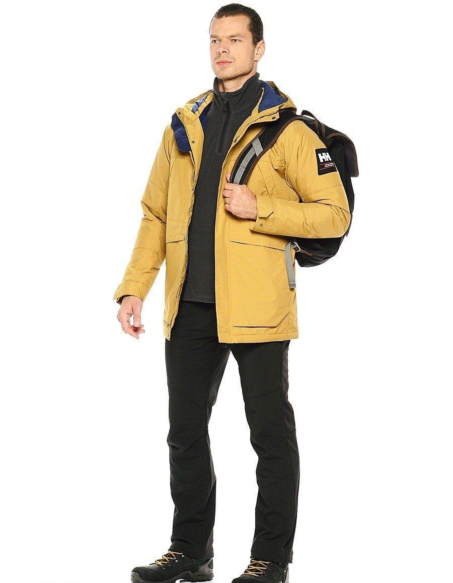 желтая куртка на синтепоне
