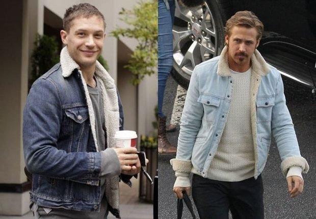 джинсовые куртки короткие с меховой подстежкой