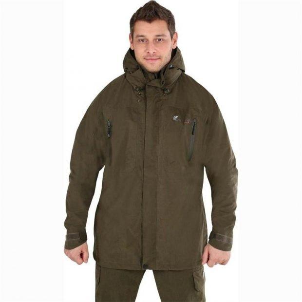 утепленная куртка зеленая
