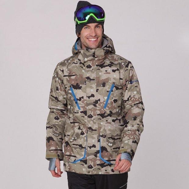 куртка для сноуборда камуфляж