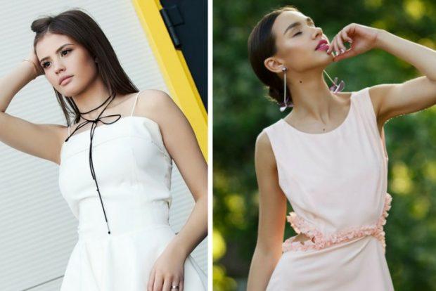 модные тенденции весна лето 2021 светлые платья без рукава