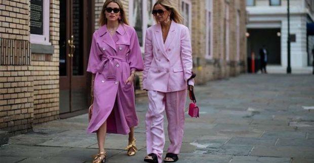 модные тенденции весна лето 2021 в пижамном стиле нежно-розовый стиль