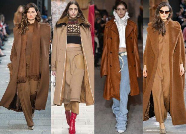 модные тенденции лето 2021 в коричневом цвете