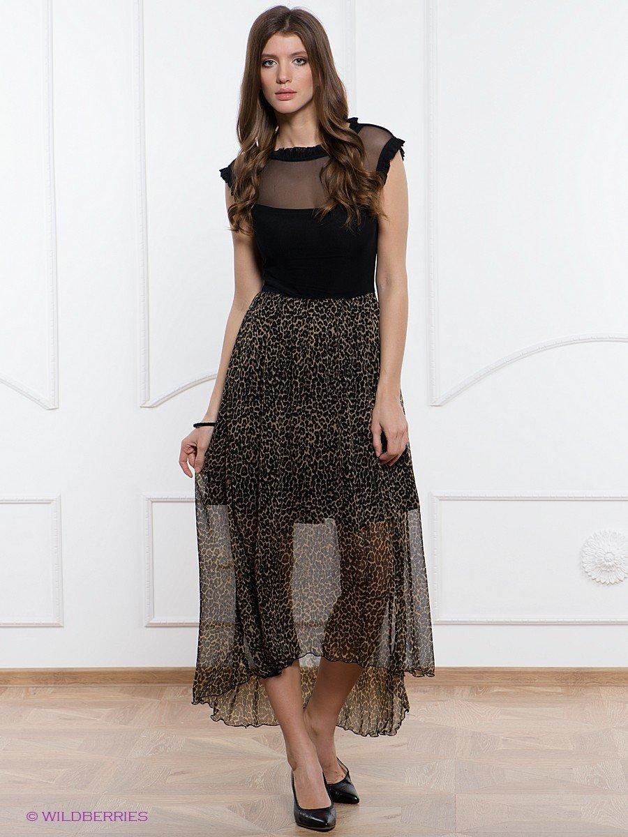 платье полупрозрачное темное