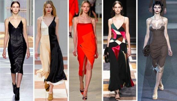 платья в бельевом стиле черное черно-белое красное цветное серое