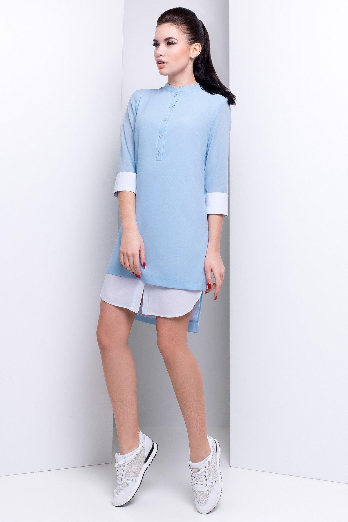 платье-рубашка под кроссовки