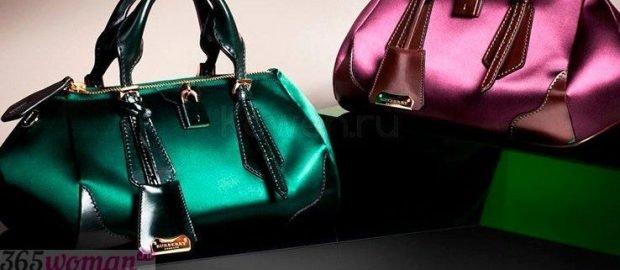 сумка зеленая неоновая малиновая неоновая с короткими ручками