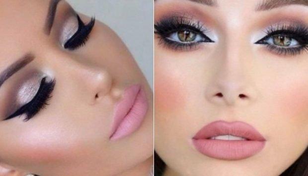 Модный макияж весна лето: яркий вечерний макияж в розовых тонах