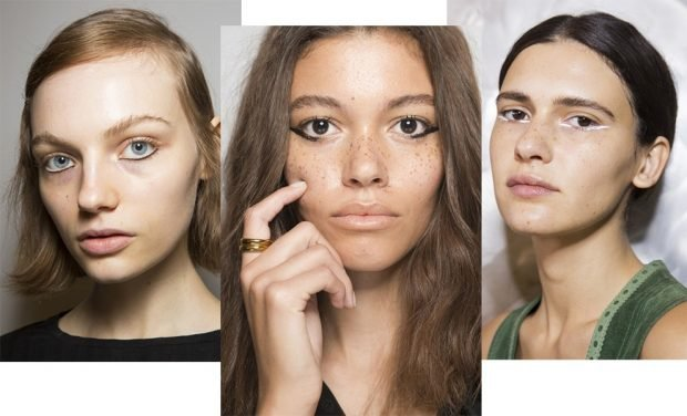 макияж весна лето: натуральный стрелки по нижнему веку