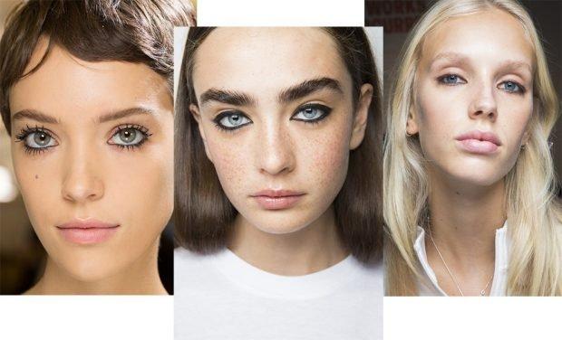 макияж весна лето: темные стрелки по внутреннему веку